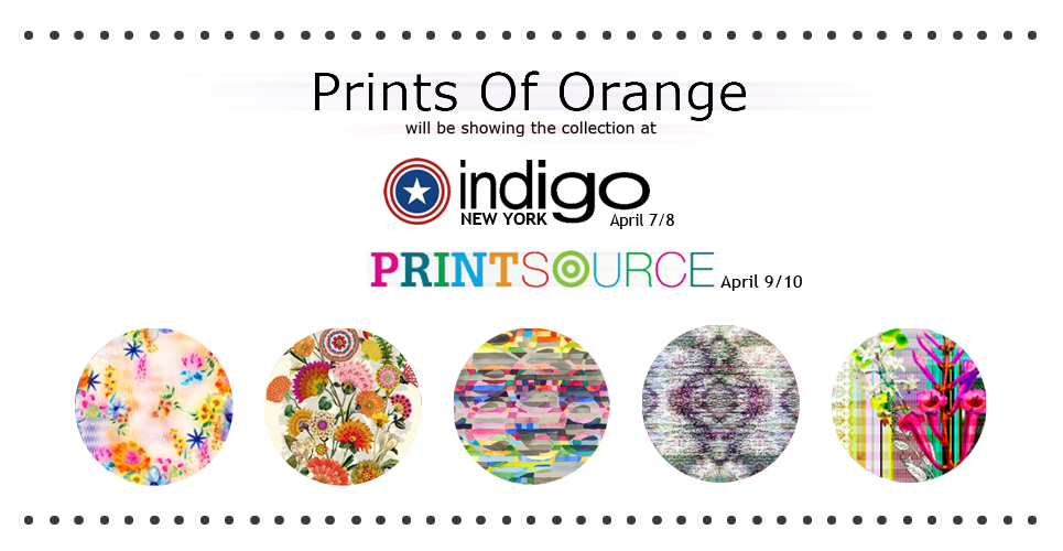 prints of orange Indigo show 07-08 April 2015
